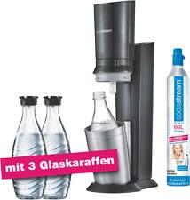 Artikelbild Sodastream Crystal 2.0 Titan Aktionspack mit 3 Karaffen Titan