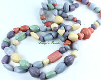 Ethereal Mix Strung Czech Pressed Glass Beads Mix