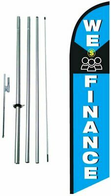 FLAG ONLY LINCOLN 12ft Feather Banner Swooper Flag