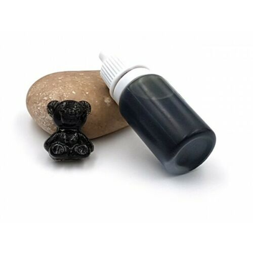 Neuf Colorant noir 10gr pour créations en résine ou slime