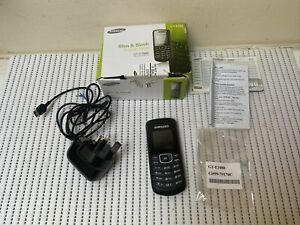 Samsung GT E1080i-Nero (Sbloccato) Telefono cellulare. #WE5