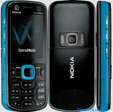 BLUE NOKIA 5130C-2 MOBILE PHONE - UNLOCKED WITH A NEW HOUSE CHARGER AND WARRANTY