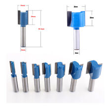 Size : 3NO 13 Nologo Huh-PAOHUAZT 1PC 8mm Shank Short Straight//Dado Router Bit Set 1//4,3//8,1//2,1//2 Diameter Wood Cutting Tool