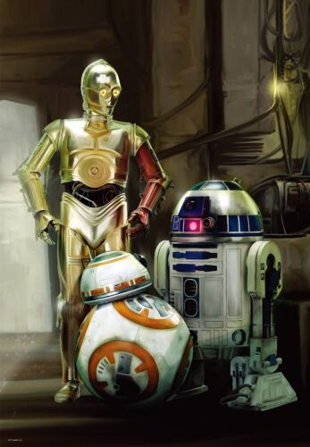 51x73.5cm C-3PO /& BB-8 1000 piece Star Wars Episode 7 R2-D2 Tenyo From Japan
