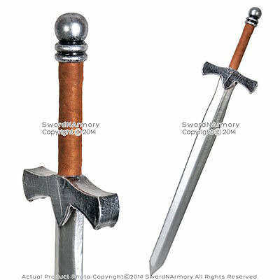 "36"" Fantasy Dark Knight Arming Sword LARP Foam Latex Video Game Weapon Cosplay B"