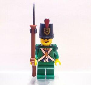 Lego Vintage Redcoat Minifigure Imperial Guard w// Epaulettes pi062 Pirate