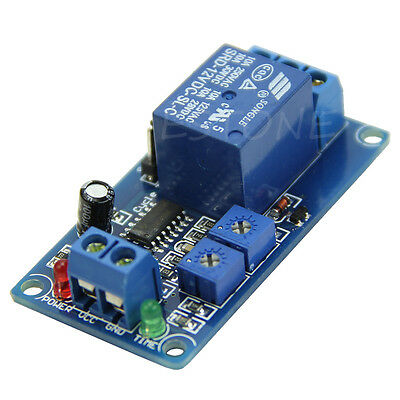 1pc 12V Cycle Delay Module Timing Chip Control Cycle Relay Switch Relay Module