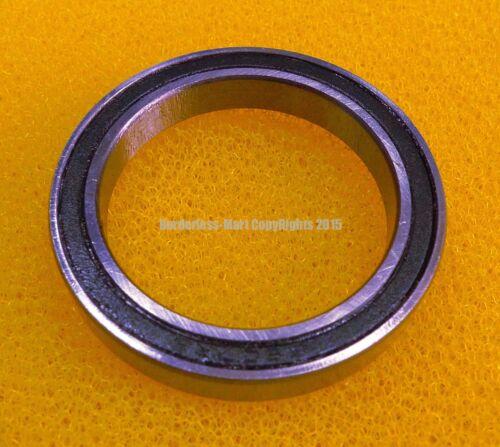 10 PCS 6806-2RS 30x42x7 mm Metal Rubber Ball Bearing Bearings BLACK 6806RS