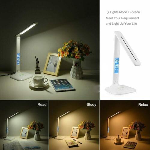 Schreibtisch-Lampe LED dimmbar Büro Tischleuchte Touch Kinder Leselampe 800LUX