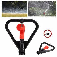DN15 Yard Garden Lawn Irrigation 360° Rotation Water Sprinkler Head Plastic E.