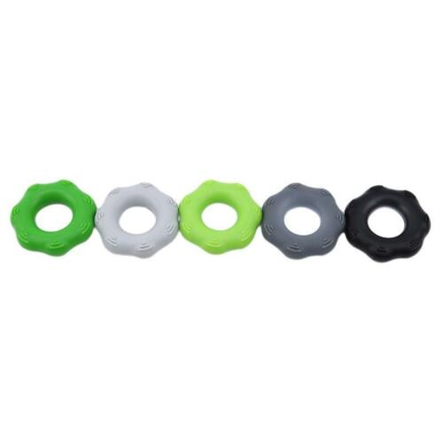 Strength Finger Hand Grip Exerciser Muscle Power Training Silicone Trainer T