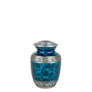 Perfect Memorials Small Turquoise Dream Cremation Urn