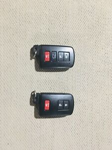 (2) Toyota Factory /OEM Remote Smart Key Model # HYQ14FBA