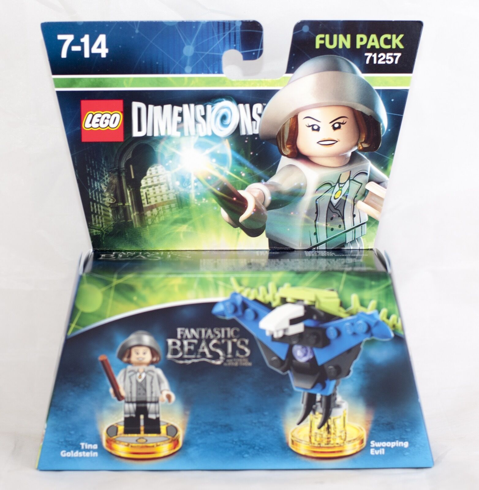 LEGO 71257 Dimensions Fun Character Figure Pack Tina Goldstein Swooping Evil