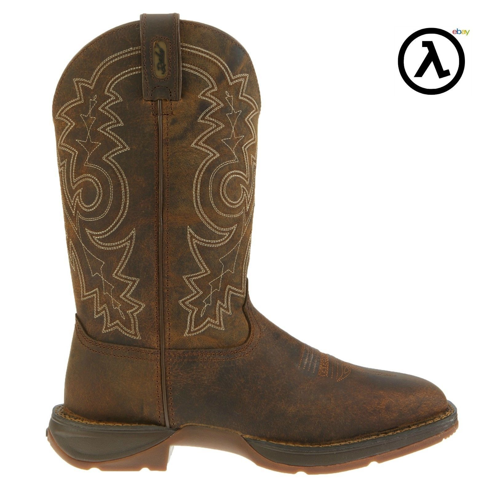 REBEL BY DURANGO STEEL TOE PULL-ON WESTERN BOOTS DB4343 * ALL SIZES - NEW