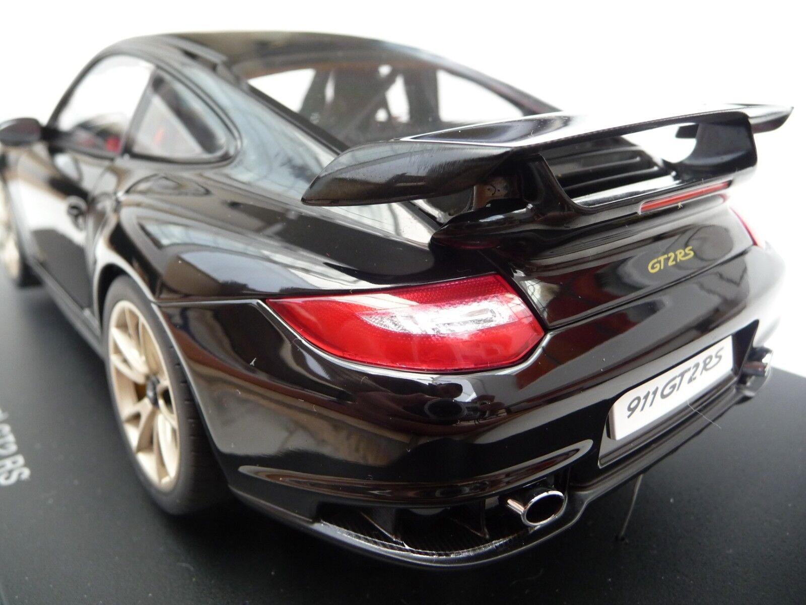 descuento de ventas Autoart 1 18 Porsche 911 (997) GT2 RS RS RS 2010 Negro AA77962  100% precio garantizado