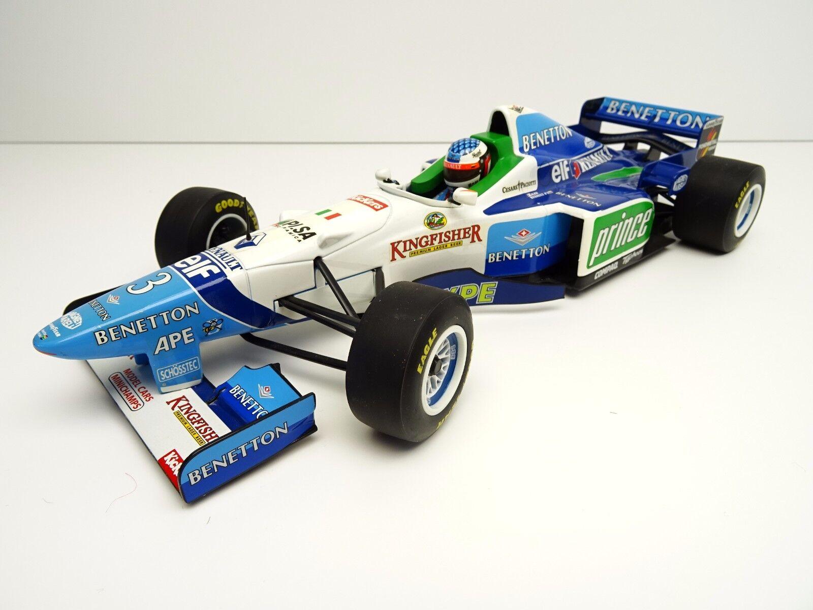 Pauls Model Art 1 18 18 18 F1 Benetton Renault B196 1996 Alesi Nr.3 TOP C3035 17bb42