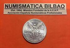 @SCRATCH@ MEXICO 1 ONZA 1990 LIBERTAD ANGEL SILVER UNC Oz Unze Troy Ounce PLATA