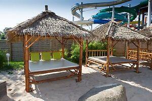 thail ndischer bambus pavillion sala sonneninsel gartenm bel lounge sonnenliege ebay. Black Bedroom Furniture Sets. Home Design Ideas