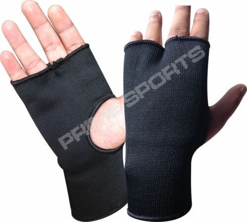 New Boxing fist Inner Glove Punch Bag Mitts MMA Wrist Fight Pair Pro Elasticated