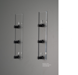 Trainsafe dividida soporte de parojo pista h0 para 5 tubos 62.5 cm gwh-h0-5s Artículo nuevo