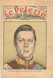 Portrait-Edward-VIII-King-of-the-United-Kingdom-British-Dominions-Roi-UK-1936