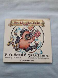 B.O. Has A High Old Time A A Barber Illus Chris Johnston An Uggle Tale 1982