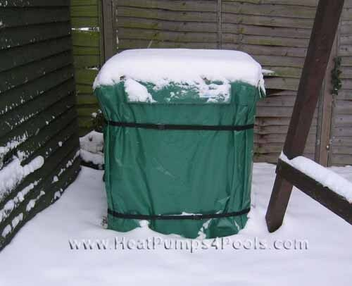 Winter Cover for Swimming Pool Heat Pump or Other Garden Items - Made to Measure