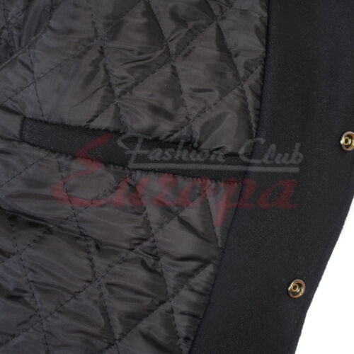 Varsity Letterman Royel blue Wool Jacket with yellow gold Leather Sleeves