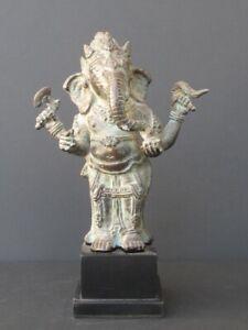 Ganesh IN Piedi IN Bronzo Indonesia
