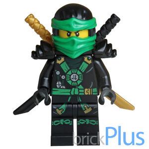 Lego Ninjago Lloyd Minifigue w/ Weapons split from 70738 njo167 ...