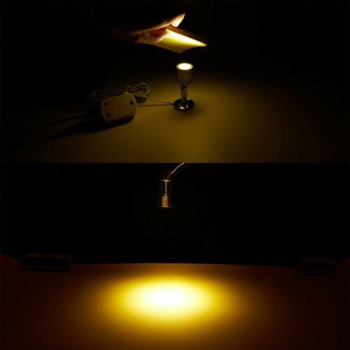 1-5X LED Deckenlampe Spot Leuchte Energiespar Leselampe Strahler Wandlampe 12V