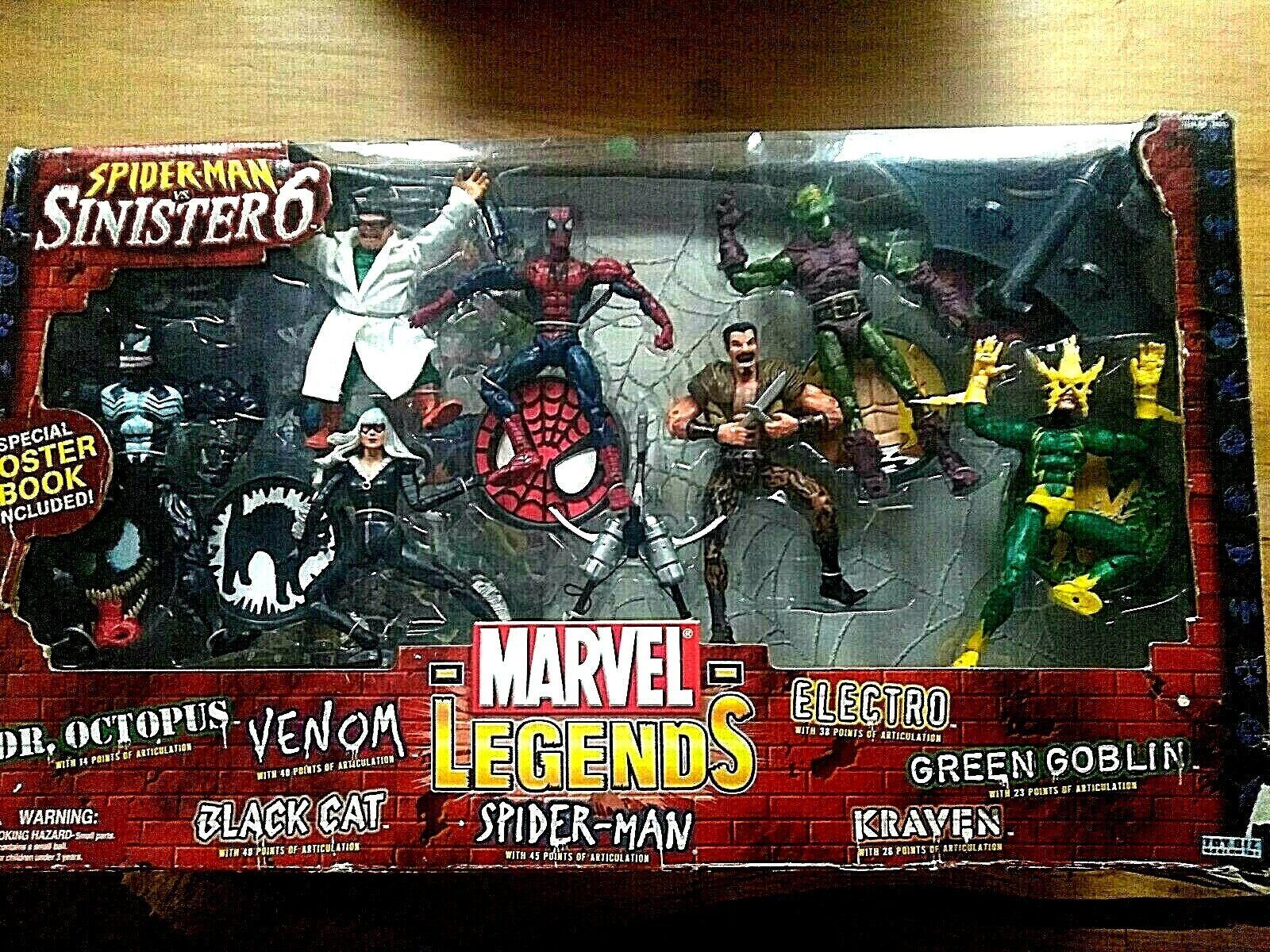 Spider-Man VS Sinister6 Marvel Legend