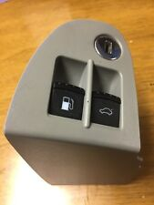 99-05 VW Jetta Mk4 Passat Fuel Gas Door Rear Trunk Release Button Switch Grey