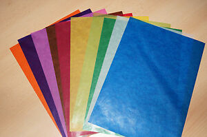 1500-Blatt-Transparentpapier-25-x-37-5-cm-10-Farben-B-Ware