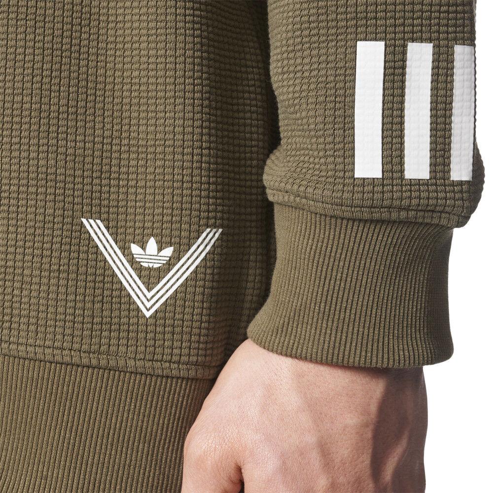 Adidas Originals Herren Weiß Mountaineering Crew Sweater Sweater Sweater Sweatshirt Olive ec070b