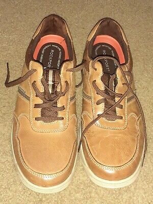 Rockport Randle Ubal Lea Sneaker Tan