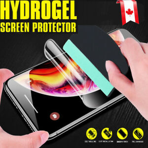 Hydrogel Screen Protector For Apple iPhone 13 12 11 Pro XS Max XR X 7 8 Plus SE