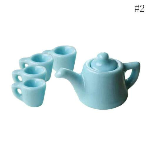 1:12 Dolls House Miniatures Mini Coffee Cup Bottle Resin Toy Gift G8L9