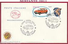 ITALIA FDC CAVALLINO COSTRUZIONI AUTO ITALIANE FIAT UNO 1985 TORINO Y955
