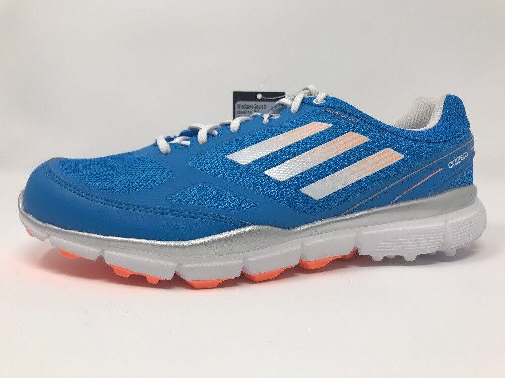 Womens ADIDAS Adizero Sport II 2 Waterproof Golf Shoes Sz 10 Solar Blue