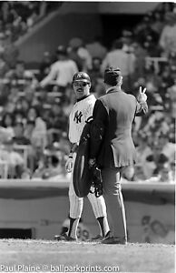 Original-35MM-B-amp-W-Negative-NY-Yankees-Reggie-Jackson-May-17-1981