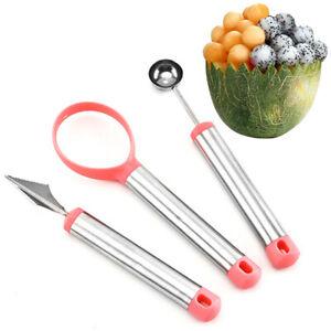 Am-3Pcs-Melon-Baller-Carving-Knife-Fruit-Scoop-Slicer-Dig-Pulp-Separator-Cutter