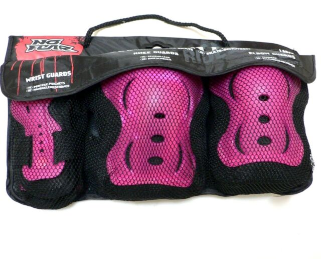 No Fear Unisex Skate Protection 3 pack Set