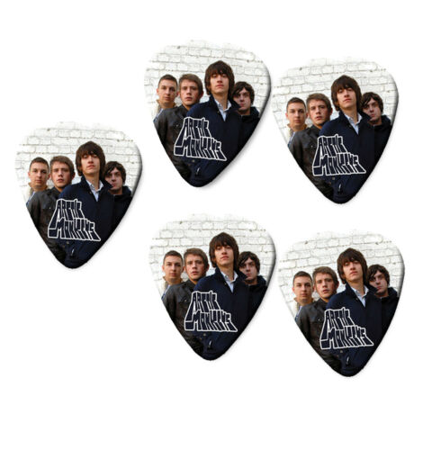 Colour Logo Guitar Pick Plectrums Picks Arctic Monkeys Printed Signature