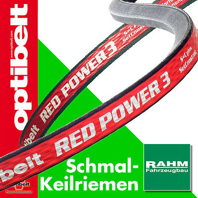 Baumaschinenteile & Zubehör Business & Industrie Neueste Kollektion Von Optibelt Keilriemen Red Power Iii Spz 1212-2650