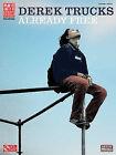 Derek Trucks: Already Free by Cherry Lane Music Company (Paperback / softback, 2010)