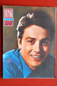 ALAIN-DELON-ON-COVER-1966-RARE-VINTAGE-EXYUGO-MAGAZINE