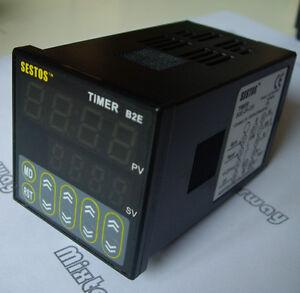 Digital-Twin-timer-4-Digitals-Timer-delay-Relay-2-Omron-Relay-B2E-2R-220-240v