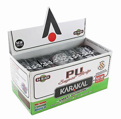 Karakal super poignées de remplacement PU Noir-Tennis-squash-badminton